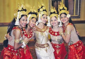by: ©2006 CHARLES KING, Apsara dancers joined in last year's Khmer Heritage Celebration.
