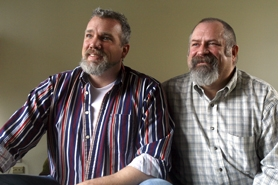 by: Jonathan House, HOLDING OUT HOPE – Collin Fellows and Marlin Hofer are looking forward to the day they will be able to retain all the same rights as a straight, married Oregon couple.