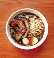 by: JIM CLARK, With chewy homemade noodles, crunchy bean sprouts and pork swimming in a rich broth, Biwa's ramen bowl made the hit list for 2007.