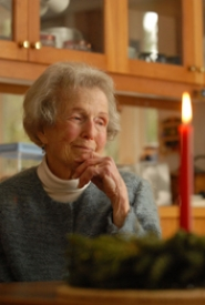 by: Vern Uyetake,  Dorothy Stafford, wife of famed poet William Stafford and Lake Oswego teacher, keeps her social calendar full by visiting with friends and attending readings, lectures and plays. This month, she will read at several events held by the Friends of William Stafford to celebrate her late husband's birthday.