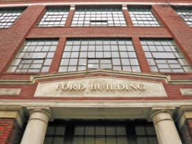 by: JIM CLARK, Once the state's only Ford Motor Co. assembly plant, the Ford Building on Southeast 11th Avenue now is a retail and office space.
