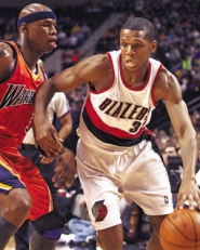 "by: JAIME VALDEZ, Blazer James Jones drives to the basket against Golden State on Wednesday, a game Portland won 109-91. After 176 wins playing with Indiana and Phoenix, Jones says his current team stands out in its completeness and all-around talent: ""With us, you don't know who it's going to be to lead us that night."""