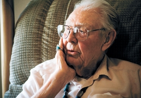 by: Chase Allgood, Relaxing at his home in Forest Grove, retired businessman Harold Wyatt recalls the interest he took in helping young people get an education. Wyatt, 94, recently donated $1 million to Forest Grove High School for college scholarships.