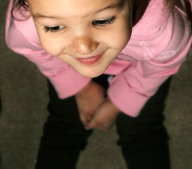 by: Jaime Valdez, Kayla Randolph said that her daughter MaKighlee's nose is almost done healing after having surgery to remove a large facial hemangioma.