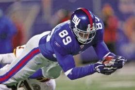 "by: Chris McGrath, Kevin Boss used to play football just ""for fun."" Now his team, the New York Giants, is a Super Bowl candidate."