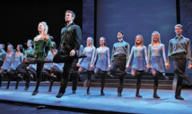 "by: ©2008 JAMES MISHLER, When the ""Riverdance"" line disbands in a few years' time, the company may well turn its attention to India and its ""passionate, attractive rhythms and simple story lines,"" which the show's senior executive producer says make it similar to Irish dance."