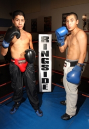 by: Jaime Valdez, Efrain Estrada and Junior Zurita will compete in the 2008 National Silver Gloves Tournament Jan. 30 to Feb. 2.