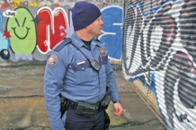 by: KATIE HARTLEY, The police bureau has dedicated an officer, Matt Miller, to graffiti investigation for the past three years. A restriction on the sale of spray paint, pushed through the City Council by Commissioner Randy Leonard, took effect in October. Now, Portland officials are pondering the next abatement effort.