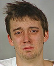 "by: , Booking ""mug shot"" of Lewis Smith, accused Sellwood vandal, courtesy of the Portland Police Department."