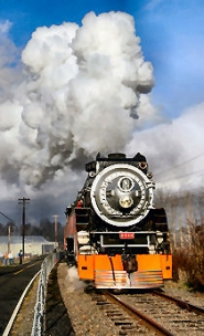 by: David F. Ashton, Providing a total of 10,000 passengers a trip back into another era, the Southern Pacific 4449 roared to life at Oaks Park again this past Holiday season.