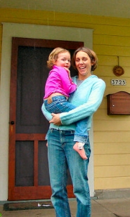 "by: Merry MacKinnon, ""Coalition For A Livable Future"" Co-Director Jill Fuglister (shown here with daughter Devon) lives in Creston-Kenilworth neighborhood. The coalition's other co-director, Ron Carley, lives just southwest of Fuglister in Westmoreland. The Portland-based coalition recently produced the ""Regional Equity Atlas""."