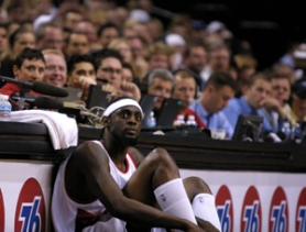 by: Leila Navidi, A few years ago, Darius Miles suited up and played in Blazer games. Now, as he recovers from microfracture knee surgery, time with the team seems not so certain.