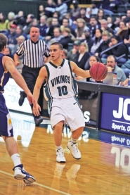 by: COURTESY OF PORTLAND STATE UNIVERSITY, PSU point guard Jeremiah Dominguez garnered both the Big Sky's player of the year and newcomer awards.