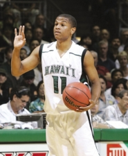 by: ©2008 JAY METZGER, Dominic Waters, formerly a guard at Grant High and the University of Hawaii, adds to Portland State's future hopes.
