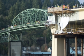by: Rick Swart, The 58-year-old Sauvie Island Bridge soon will make way for its replacement and will be moved to Northwest Portland.