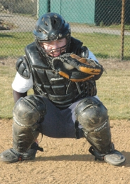 by: John Brewington, Scappoose baseball catcher Sean Wasson was a first team all-league pick last season and will lead the Indians as they try to make the state playoffs this spring.