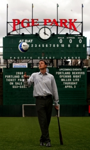 by: L.E. BASKOW, The former senior director of marketing and business development for NBA Entertainment, Merritt Paulson made the move from New York to Portland when his company, Shortstop LLC, bought the Timbers soccer and Beavers baseball teams last year, making him the teams' fourth owner since 2001.