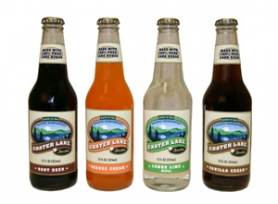 by: Courtesy of Crater Lake Soda, Portland-based Crater Lake Soda offers up a line of soft drinks that fizzle, not burn, on the way down.