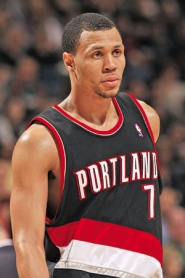by: JONATHAN DANIEL, Blazer Brandon Roy, had a hard night Tuesday, with Phoenix's Raja Bell shutting down his scoring.