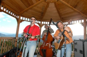 by: John Klicker, Ida Viper, a trio featuring Mark Petteys on banjo, Brian Oberlin on saxophone and Rusty Baker on bass, will close the April 19 bluegrass/roots concert at the Gresham Little Theater.