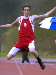 by: John Lariviere, With athletes like Trevor Ferguson competing, the Oregon City Pioneers will by tough to beat this spring. Ferguson won the triple jump with a new personal best of 42-4-1/2 in last week's dual meet with Lakeridge