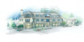 by: SUBMITTED RENDERING / BUENA VISTA CUSTOM HOMES, SUBMITTED RENDERING / BUENA VISTA CUSTOM HOMESThe 20,600-square-foot Pollock Building at Fourth and A in downtown Lake Oswego will have ground floor retail along with office space on the second and third levels.
