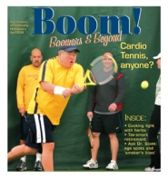 by: Jim Clark, A cardio tennis class at the Portland Tennis Center.