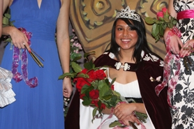 by: Sarah Davidson, Wilson High School senior Tonita Cabrera is crowned Rose Festival Princess for the school at a ceremony March 4. The honor means Cabrera will take part in city-wide festivities leading up to the May 29 parade.