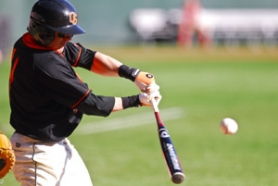 by: COURTESY OF OREGON STATE UNIVERSITY, Daniel Robertson, hitting .355 entering Monday's game with University of Portland, came to Oregon State this year from Concordia University in Irvine, Calif.
