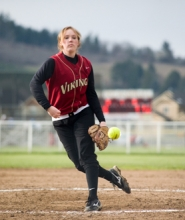 by: Chase Allgood, Forest Grove junior Emma Gronseth outdueled reigning 6A State Player of the Year Mikayla Endicott of Roseburg in a 3-1 win over the Lady Indians last Tuesday.