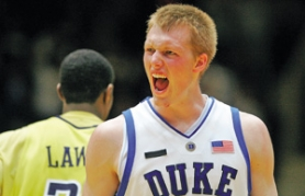 "by: STREETER LECKA, Duke's Kyle Singler says ""I know I'm not ready"" for the NBA. He's content to spend more time with the Blue Devils, learning and playing inside against bigger opponents."