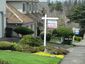 by: J. Brian Monihan, These West Linn homes are for sale in the Hidden Springs neighborhood.