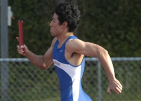 by: David Ball, Barlow senior Kevin Cook is one of three returning members from last year's runner-up 400-meter relay that took second at the state meet.