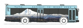 by: contributed graphic, A graphic wrap will turn SAM buses into 35-foot murals of the view from Jonsrud Viewpoint.