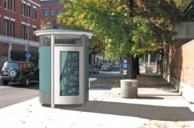 by: COURTESY OF OFFICE OF COMMISSIONER RANDY LEONARD, A public restroom designed by the Portland Water Bureau may debut at Northwest Glisan Street between Fifth and Sixth avenues later this year.