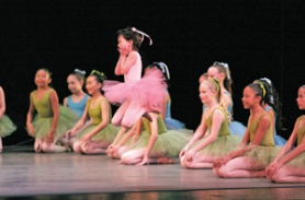 by: ©2008 ChristIAn Johnson, While the School of Oregon Ballet Theatre (left) often sends dancers on to professional companies, there are plenty of dance and other arts opportunities around town for kids who just want to try something for fun.
