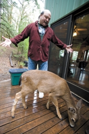 by: Chase Allgood, George Dallas talks about Short-Timer the deer, who sniffs around his front porch.