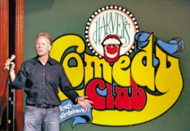 by: L.E. BASKOW, Harvey's Comedy Club's Barry Kolin puts comedians up in a condo and tells them when they can swear, but he's not a comedian himself.
