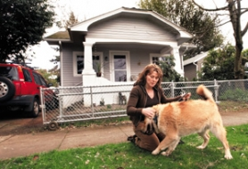by: L.E. BASKOW, Susan Shell of Northeast Portland is one of thousands of people stuck with a subprime mortgage she can't afford and can't refinance.