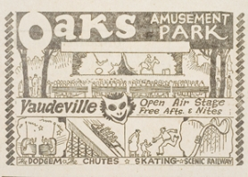 by: Archives, Oaks Park advertised in The Outlook 80 years ago.