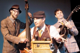 by: Contributed photo, The Wiyos, now a four-piece band playing a mix of originals and old-time music, will be performing at Edgefield on Thursday, April 24.