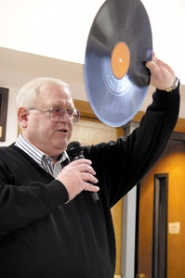 by: File photo, Dennis Crow, pictured in 2004, shared his love of old-time radio with other fans.