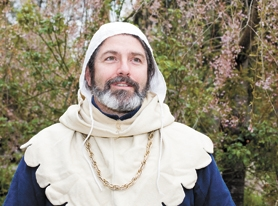 by: Chase Allgood, Donning his medieval couture, Yamhill resident Brian Elliot is gearing up for this Saturday's Faire in the Grove. His wife, Amy, and their two sons will attend as well.