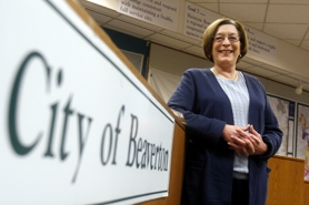 by: Jonathan House, Cathy Stanton has served in her Position 3 seat on the Beaverton City Council since January 1994.