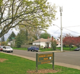 by:  JIM CLARK, Demand for cell phone service means more antennas will be going up around town, like this new tower in Arbor Lodge, which is much taller than the wood utility pole it replaced. The city of Portland is conducting a survey about placement and possible alternatives.
