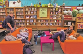 by: L.E. BASKOW, A budget shortfall meant that the only new books at the Madison High School library this year were donated ones. Many readers say Portland Public Schools should fund all of the district's librarian positions.