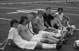 by: VERN UYETAKE, From left, Bennett Savage, Micah Joyner, Nick Wilkins, Patrick Kelly, Tyler Abegg, Jason Dodson and Josh Martin will pace a Lakeridge team that, despite being hurt by graduations, should still be one of the best in the league.