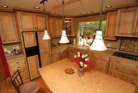 by: File photo Vern Uyetake, Norm and Kathy Weseloh of Lake Oswego worked with Oswego Design & Remodeling to transform a dreary 1969 kitchen into something classic, yet functional, for today.