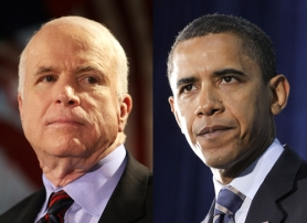 by: , Readers urge the media to cover the presidential campaigns of Sen. John McCain (R-Ariz.) and Sen. Barack Obama (D-Ill.) in a balanced manner. Others offer their opinions of the candidates.