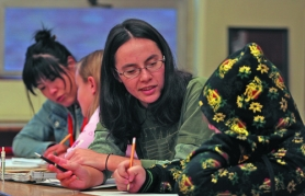 by: L.E. BASKOW, Supplemental education service providers, such as Club Z tutors Yin-Lai Chung (middle) and Catalina Choi (left), work one-on-one with students at schools in need of improvement according to No Child Left Behind standards. Writer Todd Meislahn takes issue with a recent story about SES providers, including his company, A+ Advantage Point Learning.